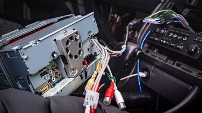 install a car radio